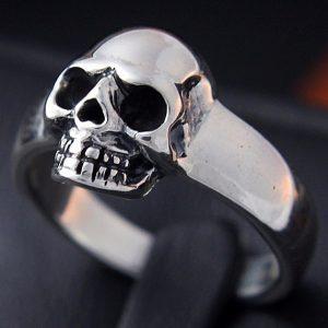 Bague Argent Skull