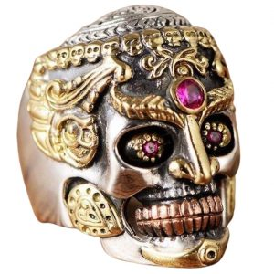 Bague Skull Femme